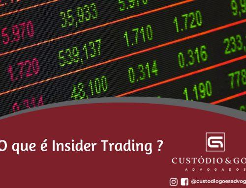 O que é Insider Trading?